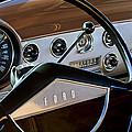 1951 Ford Crestliner Steering Wheel by Jill Reger