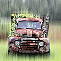 1951 Ford Truck - Found On Road Dead by Bill Cannon