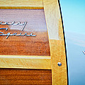 1951 Ford Woodie Country Squire Emblem by Jill Reger