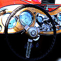 1951 Mg Td Dashboard by Lesa Fine