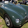 1952 Jaguar Xk120 Roadster 5d22967 by Wingsdomain Art and Photography
