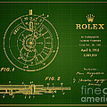 1952 Rolex Calendar Timepiece 1 by Nishanth Gopinathan