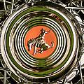 1952 Sterling Gladwin Maverick Sportster Wheel Emblem - 1720c by Jill Reger