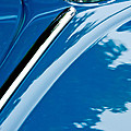 1952 Volkswagen Vw Bug Hood Emblem by Jill Reger