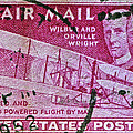 1952 Wright Brothers Stamp by Bill Owen