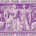 1953 American Bar Association Postage Stamp by David Patterson