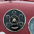 1953 Aston Martin Db2-4 Bertone Roadster Instrument Panel by Jill Reger