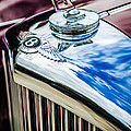 1953 Bentley R-type Hood Ornament - Emblem -0790c by Jill Reger