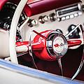 1953 Chevrolet Corvette Steering Wheel Emblem -1400c by Jill Reger