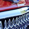1953 Chevrolet Grille Emblem by Jill Reger