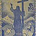1953 Chile Stamp by Bill Owen