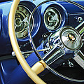 1953 Desoto Firedome Convertible Steering Wheel Emblem by Jill Reger