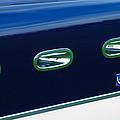 1953 Ferrari 340 Mm Lemans Spyder Side Emblem by Jill Reger
