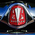 1953 Hudson Hornet Sedan Emblem by Jill Reger