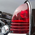 1953 Lincoln Capri Tail Light by Roger Mullenhour