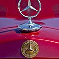 1953 Mercedes Benz Hood Ornament by Jill Reger