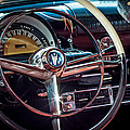 1953 Mercury Monterey Dashboard by David Morefield