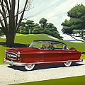 1953 Nash Rambler - Square Format Image Picture by Walt Curlee