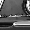 1953 Studebaker Champion Starliner Side Emblem by Jill Reger