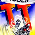 1954 - Assen Tt Motorcycle Poster - Color by John Madison
