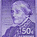 1954-1961 Susan B. Anthony Stamp by Bill Owen