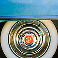 1954 Cadillac Coupe Deville Wheel Emblem by Jill Reger