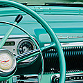 1954 Chevrolet Belair Steering Wheel 3 by Jill Reger