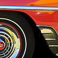 1954 Chevrolet Convertible Wheel by Jill Reger
