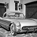 1954 Chevrolet Corvette -183bw by Jill Reger