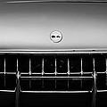 1954 Chevrolet Corvette Grille Emblem -249bw by Jill Reger