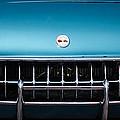 1954 Chevrolet Corvette Grille Emblem -249c by Jill Reger