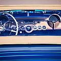 1954 Chevrolet Corvette Steering Wheel -139c by Jill Reger
