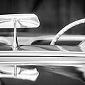 1954 Chevrolet Corvette Steering Wheel -311bw by Jill Reger