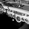 1954 Chevrolet Corvette Steering Wheel -502bw by Jill Reger
