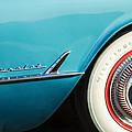 1954 Chevrolet Corvette Wheel Emblem -282c by Jill Reger