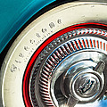 1954 Chevrolet Corvette Wheel Emblem -290c by Jill Reger