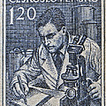 1954 Czechoslovakian Scientist Stamp by Bill Owen