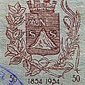 1954 El Salvador Stamp by Bill Owen