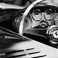 1954 Ferrari 500 Mondial Spyder Steering Wheel Emblem by Jill Reger
