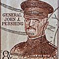1954 General John J. Pershing Stamp by Bill Owen