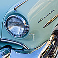 1954 Lincoln Capri Headlight by Jill Reger
