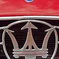 1954 Maserati A6 Gcs Emblem by Jill Reger