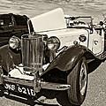 1954 Mg Td Sepia by Steve Harrington