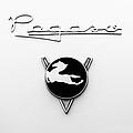 1954 Pegaso Z-102 Saoutchik Coue Emblem -2218bw by Jill Reger