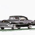 1955 Cadillac Series 62 Convertible by Jack Pumphrey