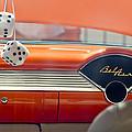 1955 Chevrolet Belair Dashboard by Jill Reger