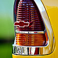 1955 Chevrolet Taillight Emblem by Jill Reger