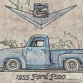 1955 Ford F100 Illustration by Dave Koontz