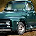 1955 Ford Truck by Carlos Diaz