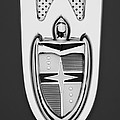 1955 Lincoln Indianapolis Boano Coupe  Emblem -0283bw by Jill Reger